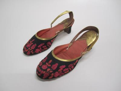 Women's evening slippers