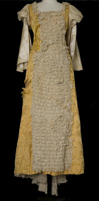 Dress - Yellow Victorian Costume Dress