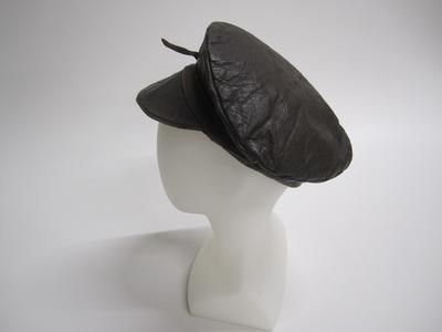 Cap, leather
