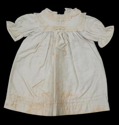 Dress - Infants Silver Dress by Mrs Smart