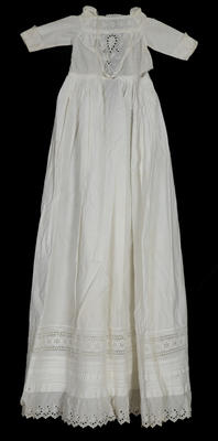 Gown - Infant's Christening Gown L.A.J