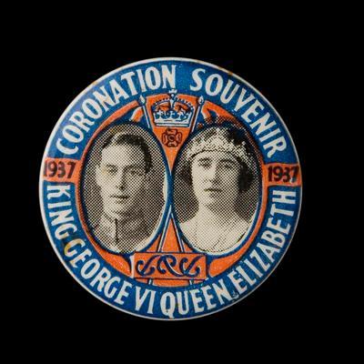 Badge – 1937 Coronation Souvenir