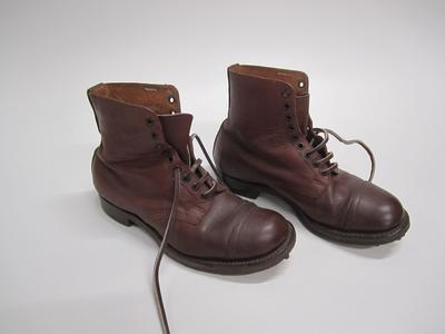 Military boots, pair