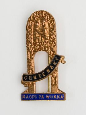 Badge – 1940 NZ Centennial Exhibition