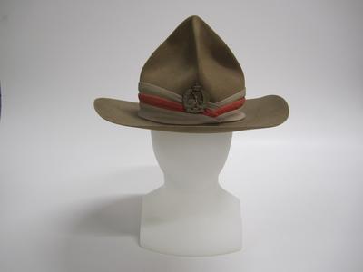 Lemon squeezer hat, 16th (Waikato) Regiment