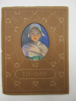To-Day A Book Of Thourght For Girls