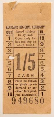 Ticket, bus