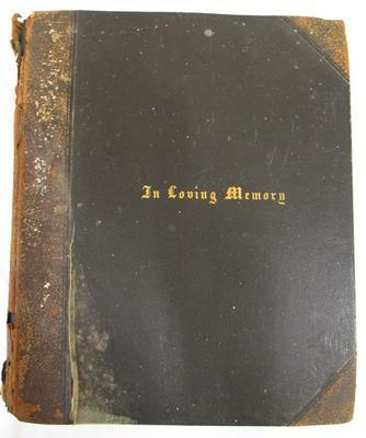 Book - Memorial Album Of  John McNicol