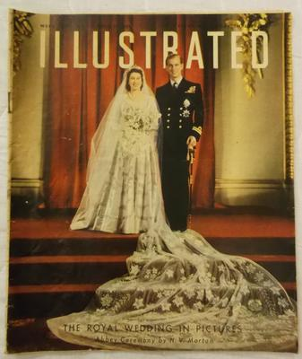 Magazine - Illustrated  Royal Wedding Edition  29 November 1947