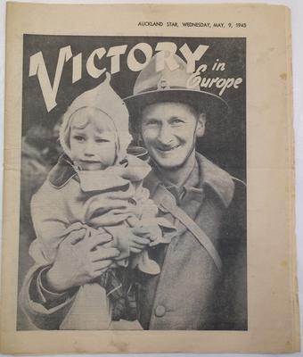 Newspaper - Victory in Europe