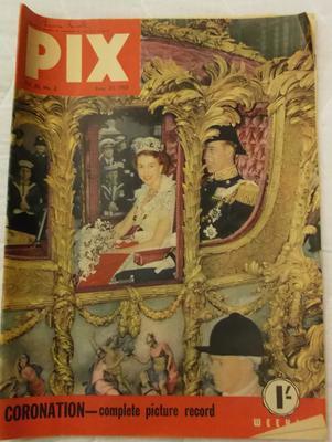 Magazine - Pix vol 30, no. 2  20 June 1953