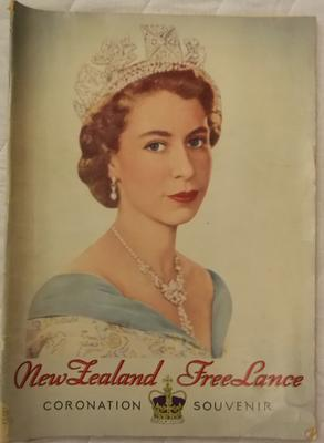 Magazine - NZ Free Lance Coronation Souvenir 27 May 1953