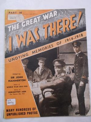 Magazine -  The Great War ... I was there! part 14