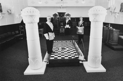 The Town's Masonic Lodge Started In 1908 And For Many Years Remained A Mystery To Outsiders