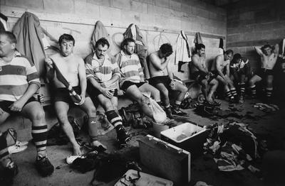 The Senior Kereone Rugby Team In The Changing Room After Beating Pirongia 18-7