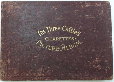 """Gigarette Card Album  - The """"Three Castles"""""""