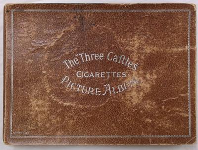 "Cigarette Card Album - The ""Three Castles"""
