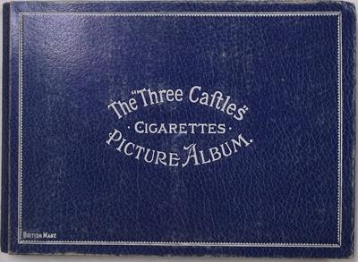 "Cigarette Card Album - The ""Three Castles"""