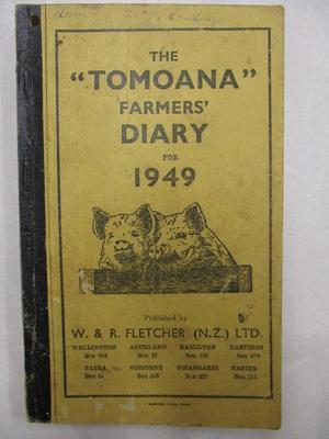 Diary - Farming Diary 1949 - Douglas  Raethel