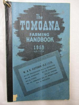 Diary - Farming Diary 1959 - Douglas Raethel