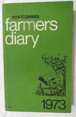 Diary - Farming Diary 1973 - Douglas Raethel