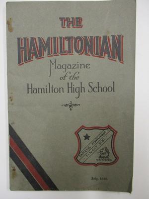 The Hamiltonian, Hamilton High School