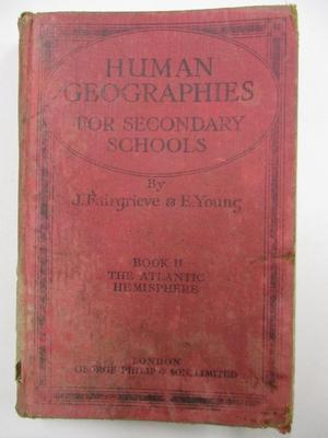 Human Geographies For Secondary Schools