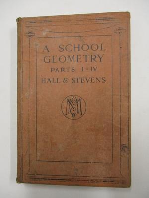 A School Geometry, Parts 1 -IV