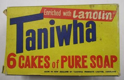 Soap Box -Taniwha Six Cakes Packet