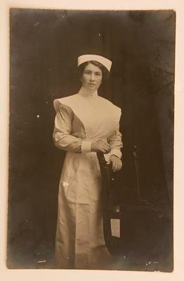 Postcard - Nurse Ellen MacFadgen
