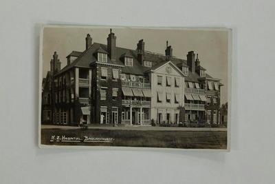 """Postcard - """"N.Z. Hospital, Brockenhurst""""."""