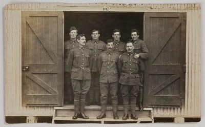Postcard - Fourth Waikato Mounted Rifles