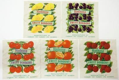 Labels (fruit bonbons), Cadbury Fry Hudson Limited