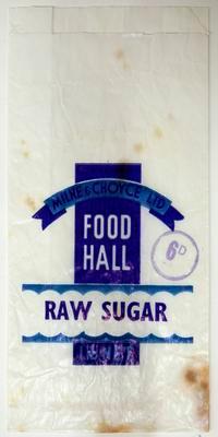 Bag, Raw sugar