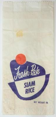 Bag, Siam rice