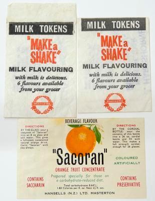 Labels, Drink