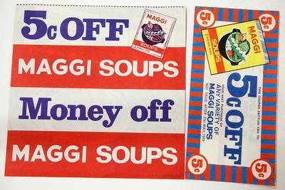 Coupons, Maggi Soup