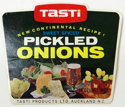 Label, Pickled onions