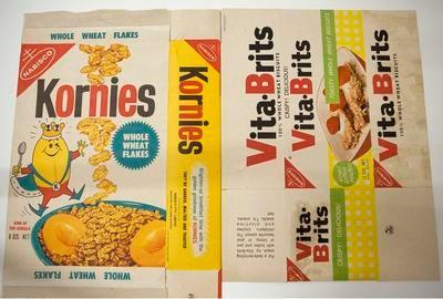 Boxes, Kornies and Vita-Brits