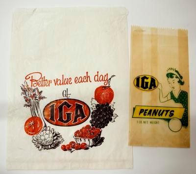 Packaging, I.G.A.
