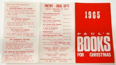 Catalogue, Books for Christmas