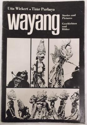 Book - Wayang Stories