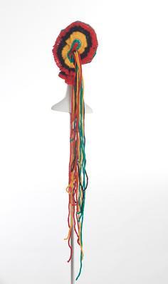 Bob Marley II - Crocheted Woollen Suit (coat, bolero jacket, pants, and hat)
