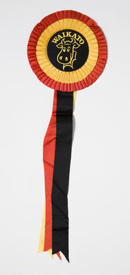 Waikato Rugby Supporter Rosette