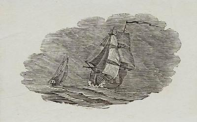 Two Ships on Stormy Sea