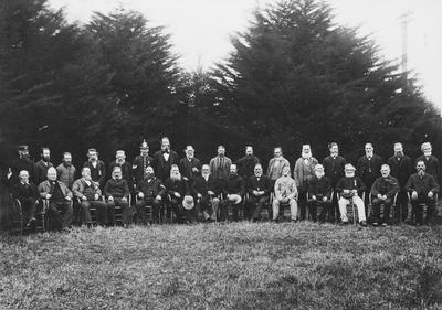 Photograph - Veterans of the 4th Waikato Regiment