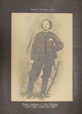Photograph - Major Gustavus F. Von Tempsky