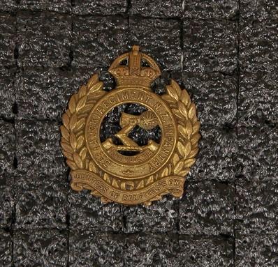 Hat badge – 3rd Auckland Regiment