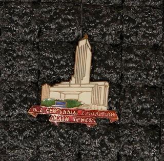 Badge – New Zealand Centennial Exhibition Main Tower