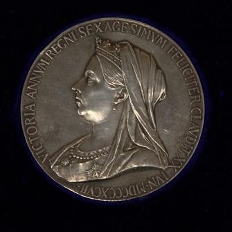Medal - Queen Victoria's Golden Jubilee